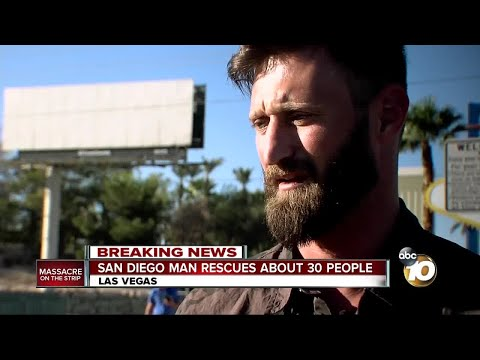 San Diego Marine rescues dozens from mass shooting