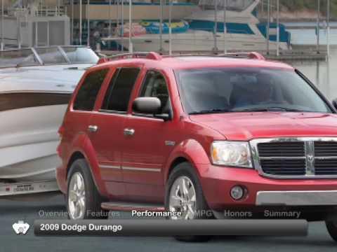 2009 Dodge Durango Used Car Report