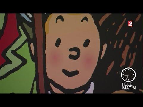 Visite guidée - Hergé, génie du neuvième art au Grand Palais