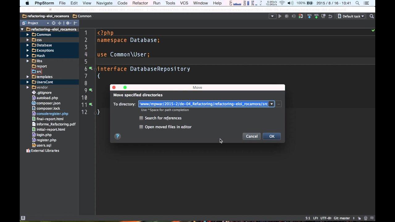PHP - Namespaces, Composer autoloader y configuración ...