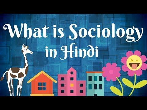 What is Sociology in Hindi   Sociology in hindi