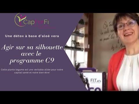 Aloe Vera Detox silhouette C9 Angers Anjou Normandie Conseils CapForFi