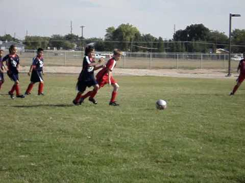 Quentin Gerber making some sweet moves on the soccer field