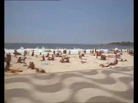 1980s Copacabana Beach, Rio De Janeiro, Brazil, 35mm Archive Footage