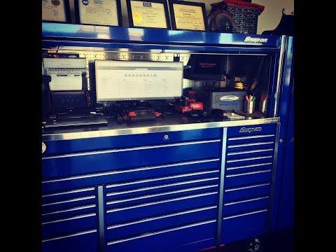 Snapon toolbox tour