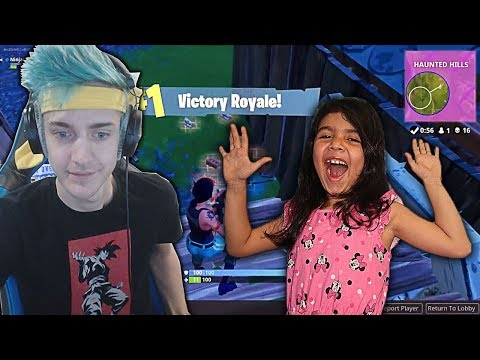 5 YEAR OLD LITTLE SISTER Reacts to the Best Fortnite Player! (Ninja) - Top 15 Best Fortnite Plays