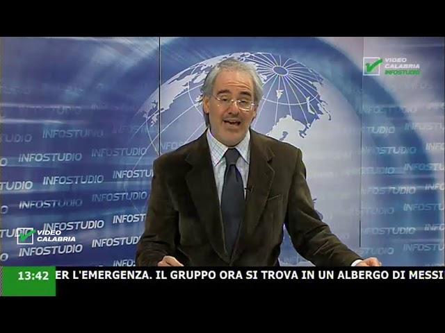 InfoStudio il telegiornale della Calabria notizie e approfondimenti - 25 Marzo 2020 ore 13.30