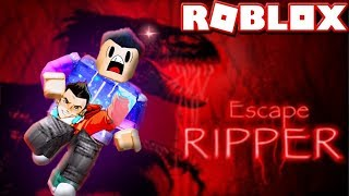 ROBLOX STORY - ESCAPE RIPPER THE RAPTOR (Dinosaurs Jurassic World)
