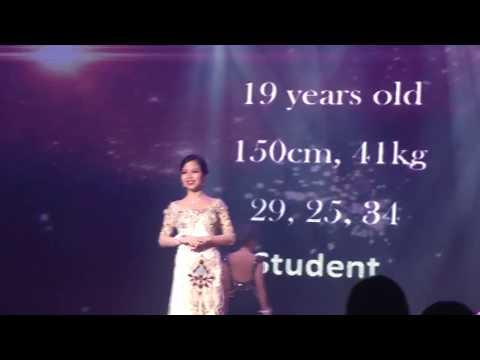 Miss Malaysia Petite SpokesPerson 2017 - Sarah Jane Tey Evening Wear Segment