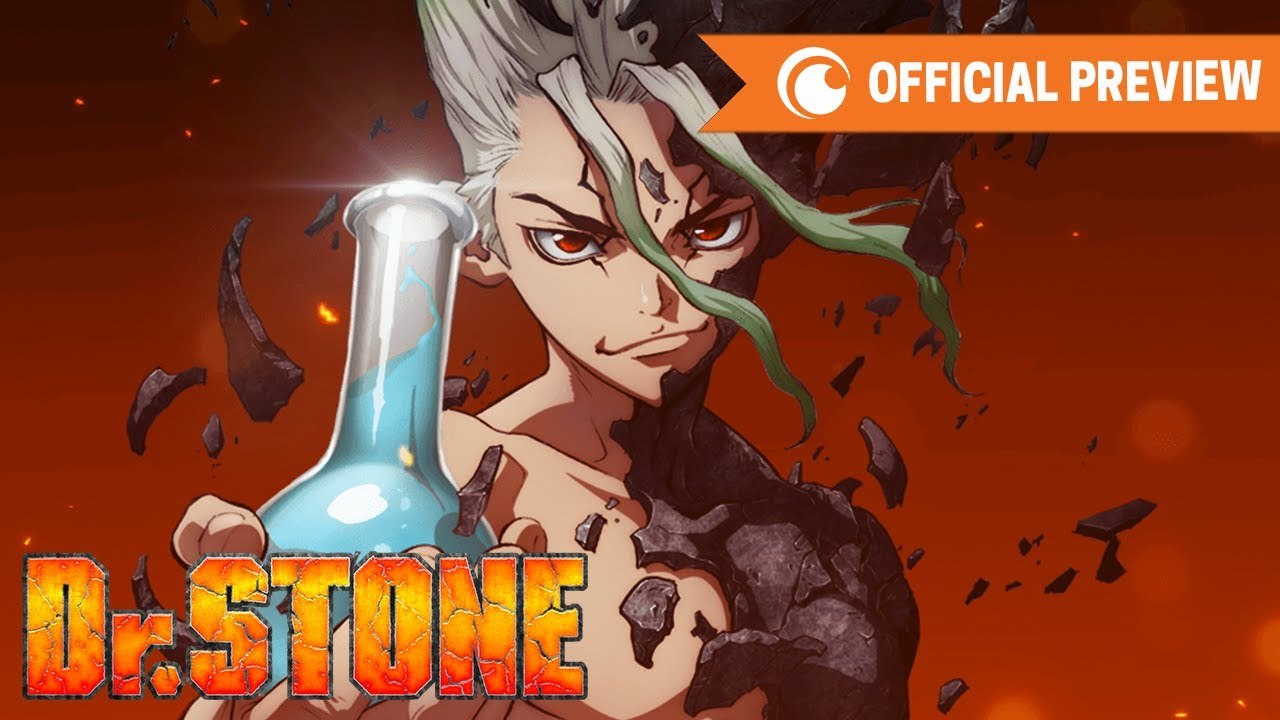 Dr. Stone Preview Crunchyroll