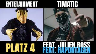 EnteTainment & Julien Boss & Timatic & Raportagen & Mizeb - Erfolg & Features
