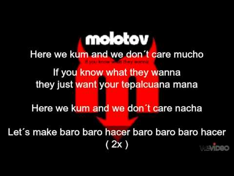 Molotov amateur lyrics pity, that