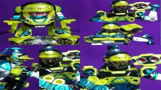 食玩仮面ライダーエグゼイドの『装動・ステージ3』ブレイブのビートゲーマーが完成しました。 【関連ブログ】 ・ロボットゲーマー→http://kamen...