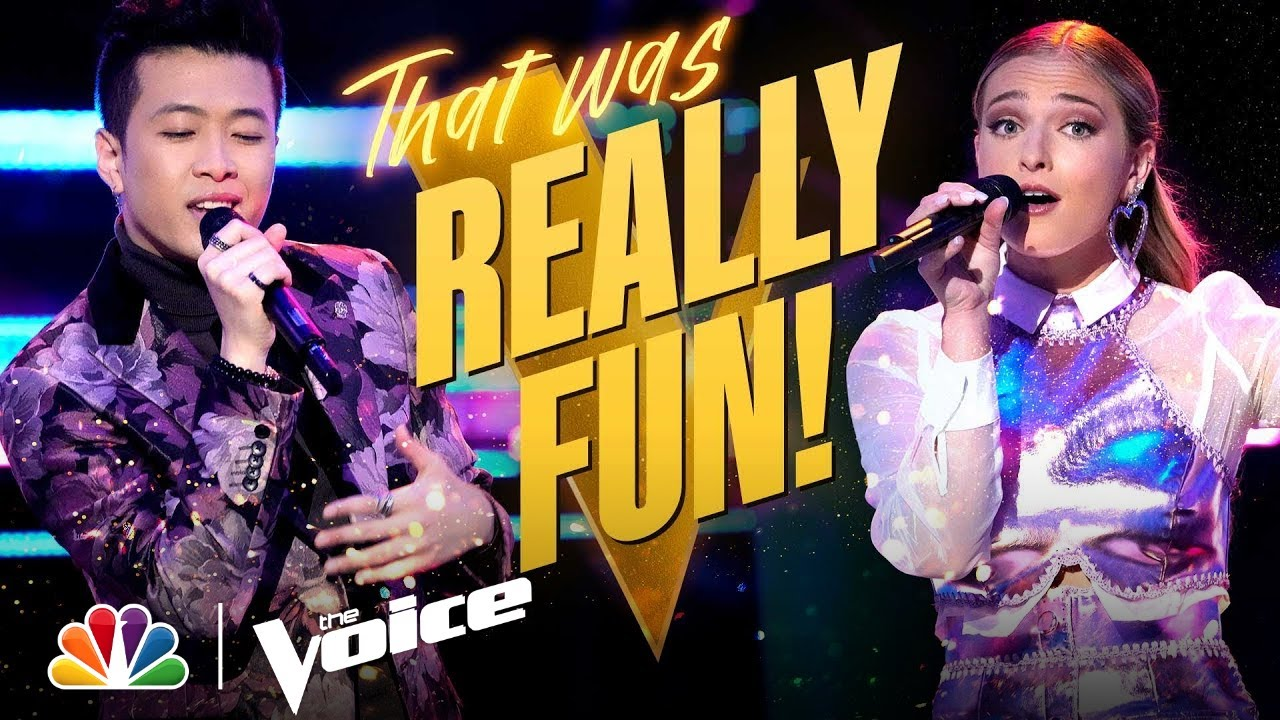 """Download Katherine Ann Mohler vs. Vaughn Mugol - Nelly and Kelly Rowland's """"Dilemma""""   The Voice Battles 2021"""