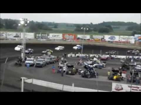 Street Stock Feature - Husets Speedway 7-5-15