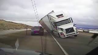 Weather Gone Viral- Truck Topple