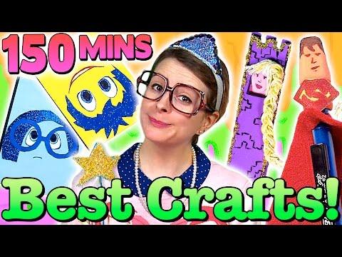 The Best Crafty Carol Crafts Of 2015! - Compilation | Cool School Crafts With Crafty Carol