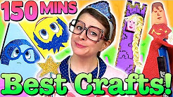 The Best Crafty Carol Crafts of 2015! - Compilation | Cool School Crafts with Crafty Carol