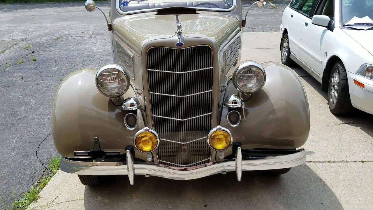 Auto appraisal on 1935 Ford rumble seat Conv\'t near Detroit Michigan ...