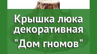 Крышка люка декоративная Дом гномов обзор F07096 бренд производитель
