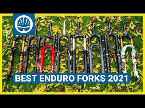 Best Enduro Forks 2021 | Seb's 8-Part MTB Fork MEGA Test