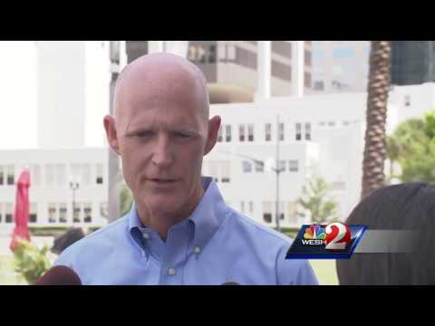 Gov. Scott doesn't think gun control is the answer