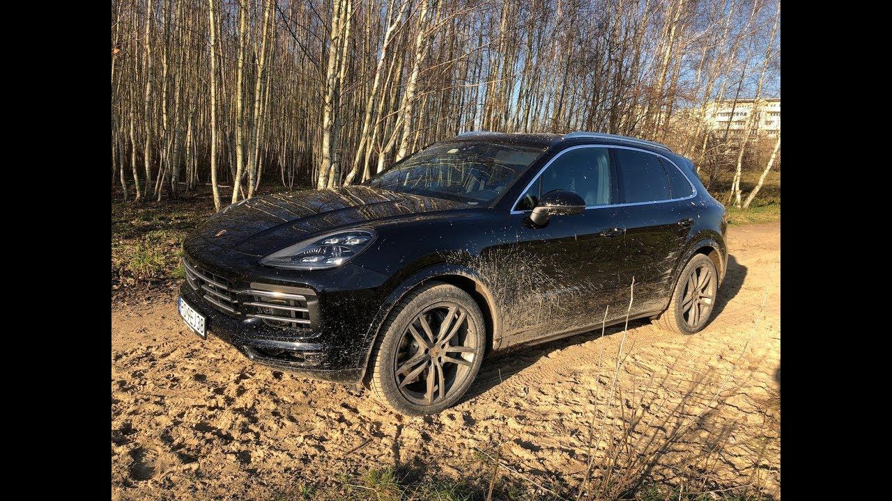 Porsche Cayenne S 2018 test PL Pertyn ględzi