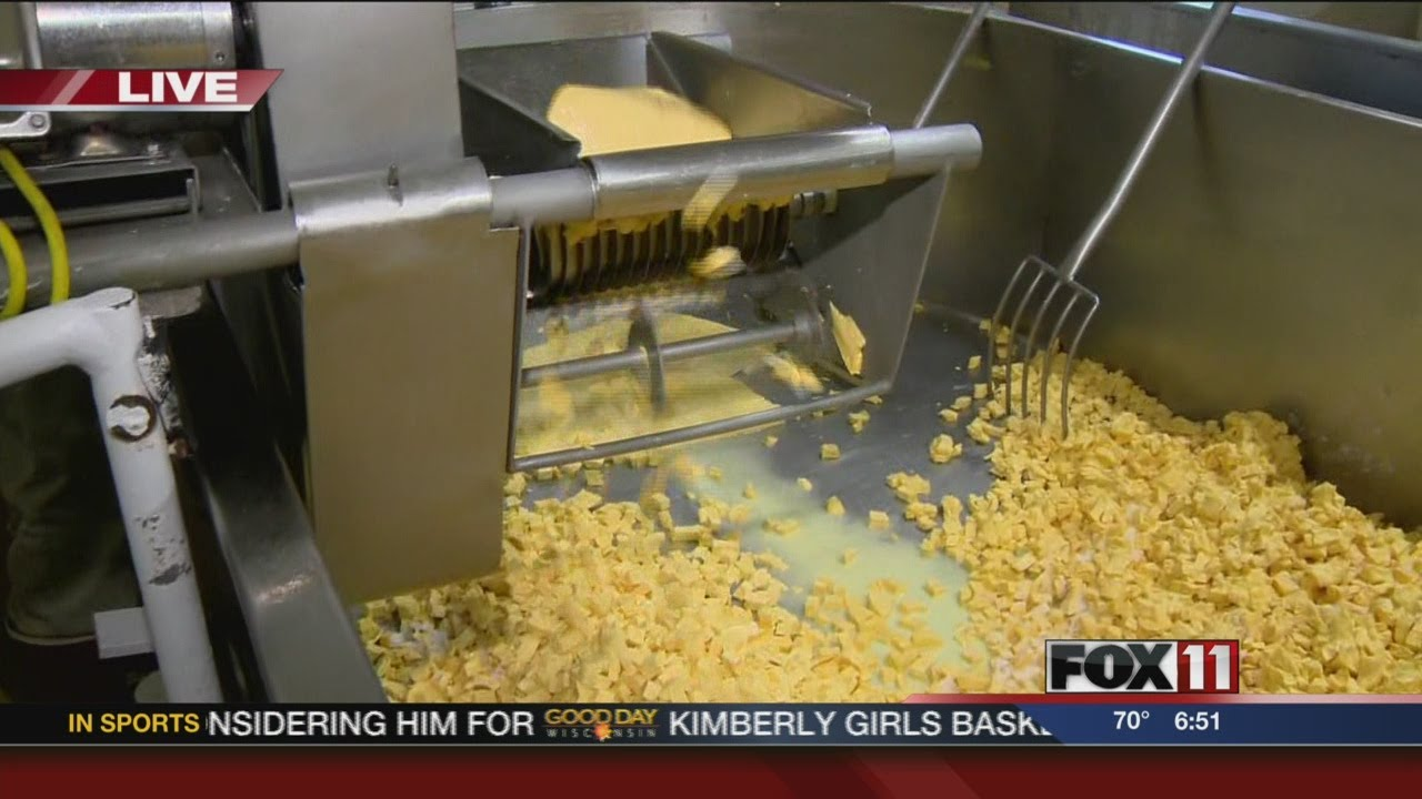 Making cheese curds - YouTube
