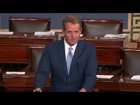 Sen. Jeff Flake: None of this is normal