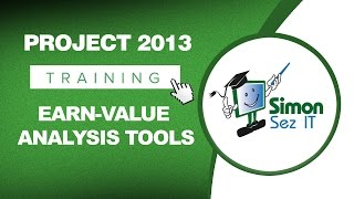 microsoft project 2013 tutorial using earn value analysis tools in ms project
