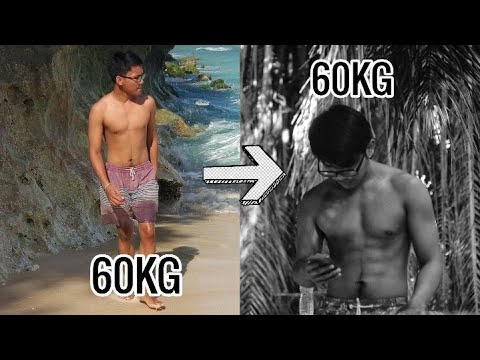 Download Body Transformation from 60kg to 60kg *same weight different look!*