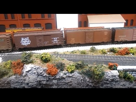 New freight cars for the railroad