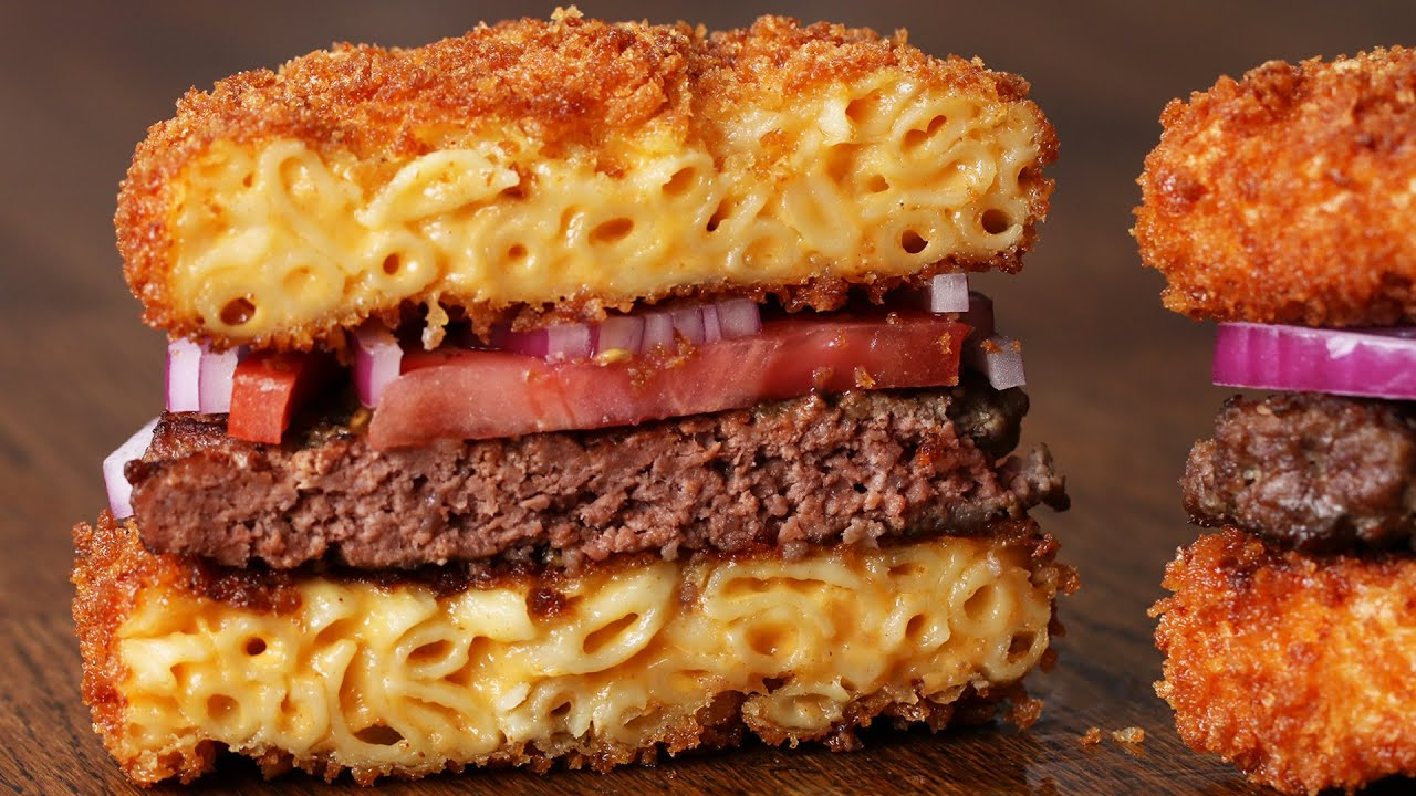 Fried Mac and Cheese Burgers (with Video)
