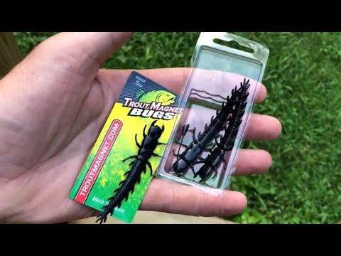 NEW TROUT MAGNET HELLGRAMMITE  Fishing Review