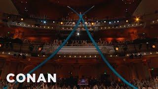 Mr. Fantastic Is Watching Over #ConanCon  - CONAN on TBS