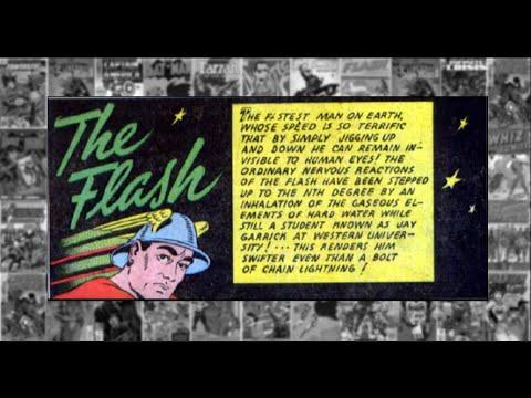 "The Flash: ""The Metal Disintegrator"", Flash Comics #07"