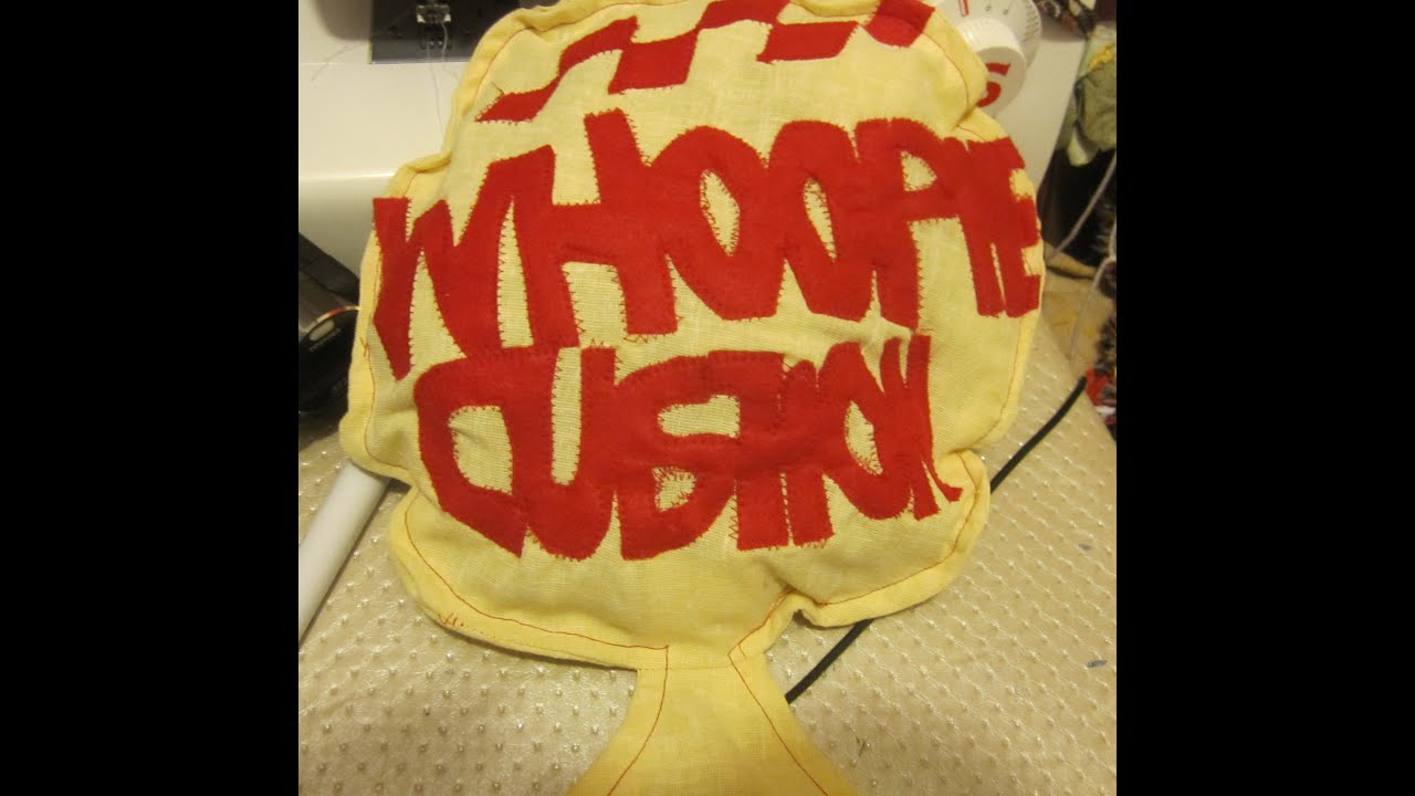 45fd1d2427 Whoopie cushion step by step sew. - YouTube