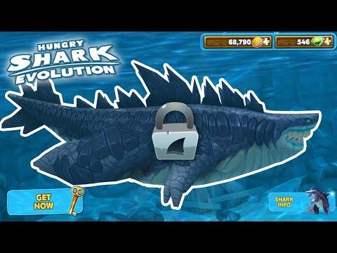 New Godzilla Shark Unlocked!!! - Hungry Shark Evolution | HD
