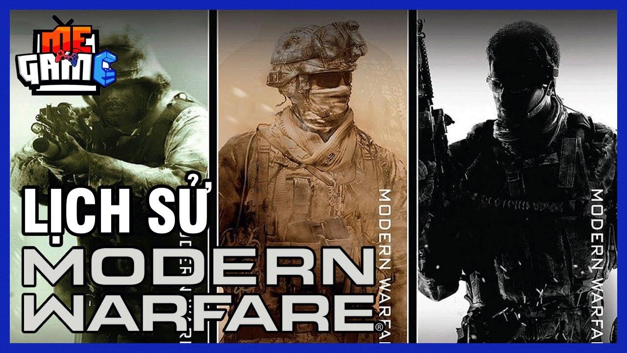 Lịch Sử Call of Duty: Modern Warfare Huyền Thoại Dòng Game FPS | meGAME