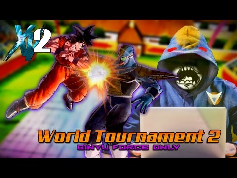 THE WORST HACKER IN XV2! Xenoverse 2 World Tournament 2 (Ginyu Force Only) Gameplay