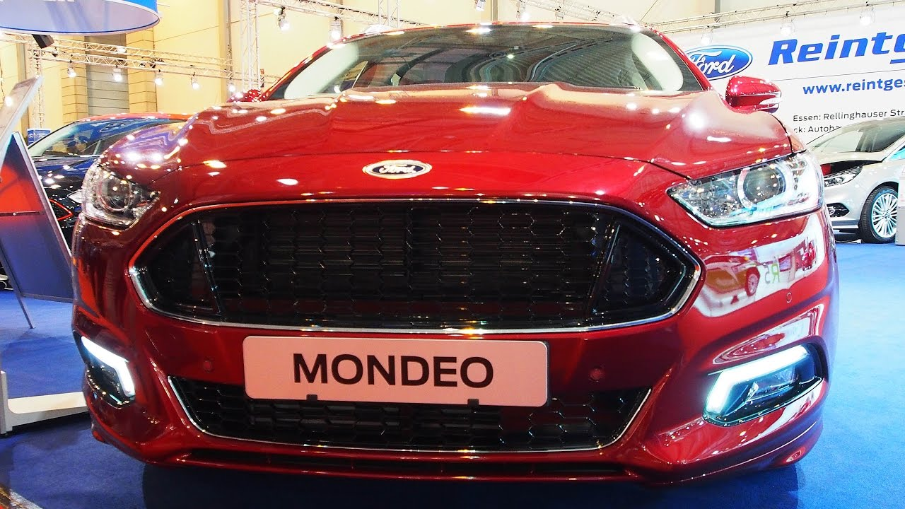 Ford Mondeo St 2017 >> 2016 Ford Mondeo Titanium 2.0 132 kW TDCi Ruby-Rot ...