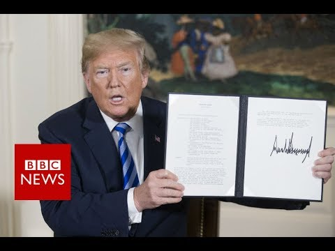 Iran nuclear deal: What's next after US pulls out- BBC News
