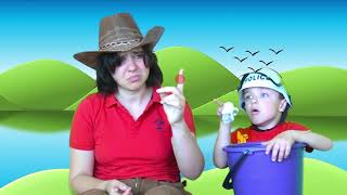 12345 once I caught a fish alive  Nursery Rhymes & Songs For Children Stories for Kids