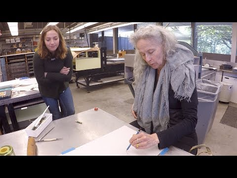 Working with Kiki Smith: Stamps Student Shares Her Experience