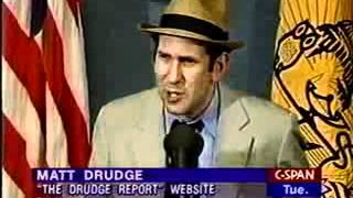 Matt Drudge Creator of Drudge Report Press Conference - (4 of 4)