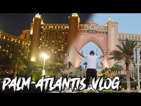 Palm Atlantis Vlog    Dubai Atlantis Hotel    Tramp Vlog    VLOG BEACH    Vlog#12