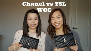 What's in our Bags | Chanel WOC vs YSL WOC
