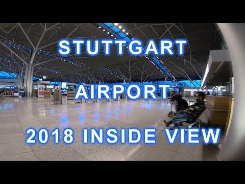 Flughafen STUTTGART Airport 飞机场 - INSIDE VIEW  - 2018   *NEW*