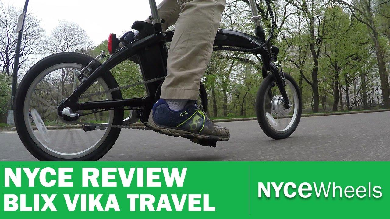 b0c668ef51f Blix Vika Travel - Compact Electric Folding Bike Review - YouTube