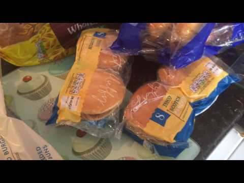 Tesco Yellow sticker haul - Over£40 of food for £12.34
